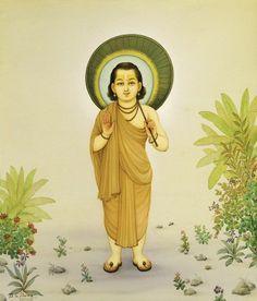 Vamana, o anão, outro avatar, que se tornou um gigante para frustrar um demônio que procurava controlar o universo. Tendo permissão para conservar tudo o que pudesse cobrir com três passos, Vamana abrangeu o céu, a terra e o ar intermediário