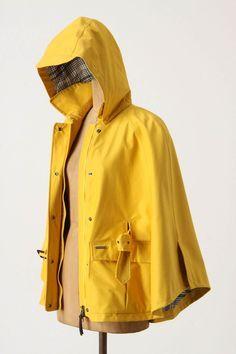 Rain Parka, Rain Cape, Yellow Raincoat, Weather Report, Women Lifestyle, Raincoats For Women, Rain Wear, My Wardrobe, Winter Outfits