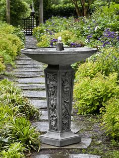Free Shipping and No Sales Tax on the Seasons Garden Water Fountain from Outdoor Fountain Pros.