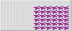 Tricksy Knitter Charts: houndstooth check