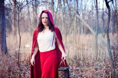 Creative Portrait Session: 'Red Riding Hood' » Roots of Life Photography