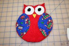 Tammy's Craft Emporium: Polar Fleece Owl - sewing with children