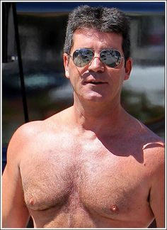 Simon Cowell Robbed After One Night Stand! Mirrored Sunglasses, Mens Sunglasses, Simon Cowell, One Night Stands, Big Men, Man Alive, Love Him, Sexy Men, Handsome