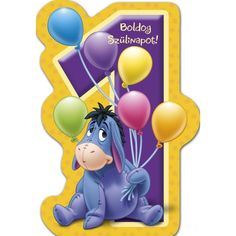 névnapi képeslap kisfiúknak - Google Search Name Day, Eeyore, Tweety, Happy Birthday, Disney, Google, Character, Art, Happy Brithday