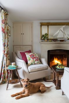 Cottage ideas for a living room – cottage lounge inspiration – Buxton house living room Period Living