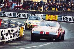 Ferrari 365 at Le Mans Sports Car Racing, F1 Racing, Sport Cars, Race Cars, 24 Hours Le Mans, Le Mans 24, Ferrari, Audi R18, Course Automobile