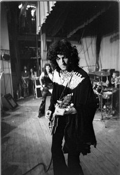 Queen on stage, London (1973) Dr. Brian May. The one and only!