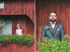 Endlich zurück im Gartenglück Wegendorf - der Location, in die ich mich vor drei Jahren bei der traumhaften Vintage-Hochzeit von Vici und Marc verliebt hatte. Und auch dieses Mal war es umwerfend schön. Was vor allem an dem umwerfend schönen Traumpaar lag. Denn Anna sah einfach fantastisch aus…