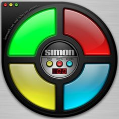 One of my all time favorite games as a kid. Now I have the app. Simon #80's