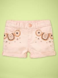 Embellished shorts - Toddler