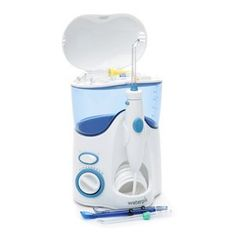The Waterpik Ultra Water Flosser WP 100 is the easier and more effective alternative to string floss for those who...