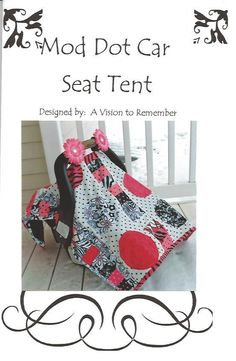 PATTERN Car Seat Cover Baby Quilt Quilted by avisiontoremember, $8.00