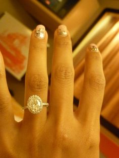 This is the most beautiful most perfect wedding ring I've ever seen.