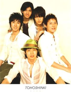 dbsk five I should make a board called changmin in the middle