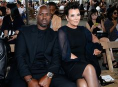 Corey Gamble & Kris Jenner from The Big Picture: Today's Hot Pics  The couple were on hand to watch Kendall Jenner walk for Givenchy during Paris Men's Fashion Week Spring/Summer 2016.