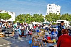 Vide-greniers de Printemps du Comité de Quartier de Port-Neuf, La Rochelle, Poitou-Charentes
