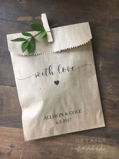 to be wedding favors Wedding Favors - Custom Printed Favor Bags - Recycled Wedding - Treat bag Goodie Bag - Bridal Shower Favors- 25 pack Wedding Favors And Gifts, Creative Wedding Favors, Elegant Wedding Favors, Custom Wedding Favours, Wedding Favor Bags, Beach Wedding Favors, Bridal Shower Favors, Trendy Wedding, Personalized Wedding