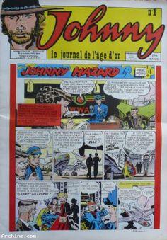 "Johnny Hallyday "" Le journal de l'age d'or """