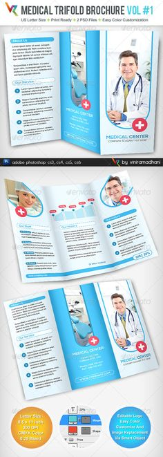 Free tri fold brochure templates senior living community for Brochure templates for photoshop cs5