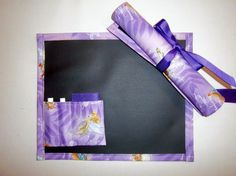 Tinkerbell Chalkboard For Kids/Placemat by Allinastichquilts, $8.00