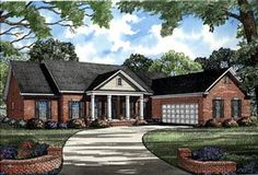 Ranch   Traditional   House Plan 82096