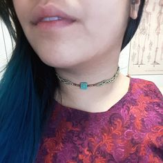 Vintage Charm Choker with Copper Accents by VanderaStuff on Etsy