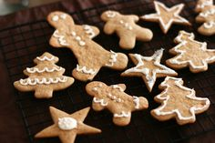 https://flic.kr/p/94Bxzt | Gingerbread Cookies | Joseph and I made these together today to celebrate Christmas.