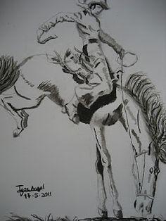 el vaquero - los dibujos de jose angel barbado