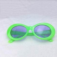 232ac5a375f Green w  Blue Tint Clout Goggles