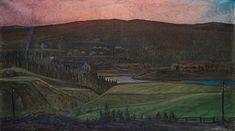 Otto Hesselbom View over Koppom, Värmland , 1904 (Pharyah)