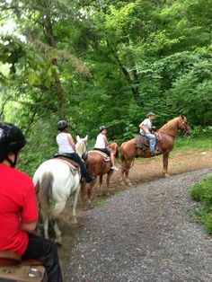 Horseback Riding – Big Rock Stables at Ponderosa in Pigeon Forge, Tennessee