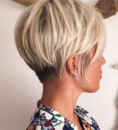 1-Kurzer Pixie Schnitt Blond Farben