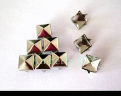 【Qoo10】 - Jewelry / Watches - Various Shapes Pyramid DIY Clothes Studs...
