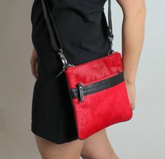 Bloggers @luvinurstyle #leather #fur #bag