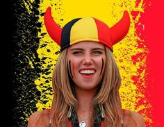 Cheering Belgium model may have been dropped by L'Oreal for hunting photo