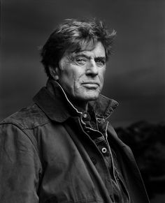 Robert Redford (1936) - American actor, film director, producer, businessman, environmentalist, philanthropist, and founder of the Sundance Film Festival. Photo Jonas Fredwall Karlsson for Vanity Fair