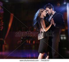 Romantic photo of a hugging couple by conrado, via Shutterstock