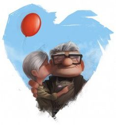 "boyfriend once told me if i died before him he will become the grumpy old guy from ""UP"" <3 they had true love"