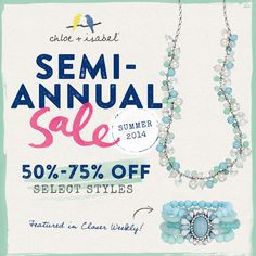 Shop the Chloe + Isabel Semi-Annual Sale! Click thru to shop 80+ gorgeous items!