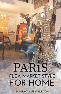 Paris Flea Market Style Home Decorating Ideas from @skimbaco