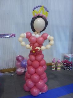 Princess Balloon Decor by Just Dainty!