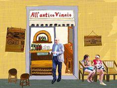 Miss this place in Firenze. 하..여기 가서 파니니 먹고프당.  #allanticovinaio  #데일리 #먹스타그램 #파니니 #샌드위치 #이탈리아 #피렌체 #여행 #맛집 #그림쟁이 #일러스트 #그림 #디자인 #손그림 #아트 #instadaily #food #panini #sandwich #Italy #Italia #Firenze #travel #illustration #doodle #drawing #design #art #artist #creative