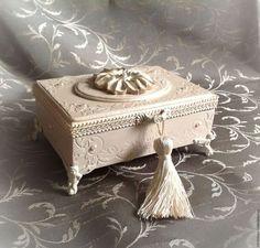 Подарки на свадьбу ручной работы. Свадебная шкатулка для колец
