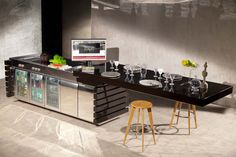 "Discover our #kitchen ""Fantesca""   Integrated system for cooking and outdoor storage with electric action tv sliding and rotation mechanism.    #design #Automation #HomeAutomation #smarthome #Luxury #italianstyle #cucine #light #madeinitaly #handmade #kitchens #kitchen #outdoor #domotica #italy #madewithlove #CucinaOutdoor #cucinadaesterno #kitchendesig #kitchen #moderncuisine #cucinamoderna #food #cooking #fashion #amazing #foodlover #homecooking #homedecors"