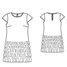 Платье - выкройка № 103 из журнала 3/2010 Burda – выкройки платьев на Burdastyle.ru