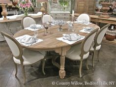 Tables, Kitchen Tables, Dining Chairs, Wood Tables, Round Tables, Dining Tables, Stools | Country Willow