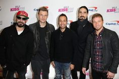 What's the secret to sticking together when you're part of a world-famous boy band? According to Kevin Richardson of the Backstreet Boys, it's going to counseling and treating the band like a marriage. This is the sweetest thing I think I've ever hea Backstreet Boys Lyrics, Backstreet's Back, Kevin Richardson, Nick Carter, Star Track, Jumping For Joy, Cool Bands, Justin Bieber, Cute Boys