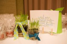"Relief Society Birthday Dinner idea - ""growing together"""