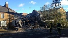 In pictures: Storm batters England and Wales