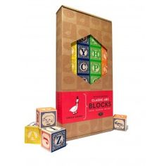 Classic Handmade wooden blocks made in the USA. A set of blocks to be enjoyed now and by future generations. Wooden Alphabet Blocks, Wooden Blocks, English Abc, Wooden Cubes, Learning Toys, Handmade Wooden, Bookends, Have Fun, Kids Room